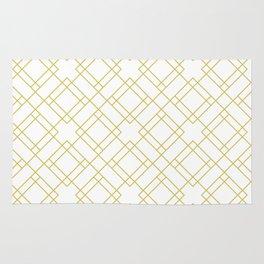 Simply Mod Diamond in Mod Yellow Rug