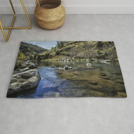 Deschutes River below Steelhead Falls Rug