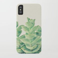 Necklace Vine iPhone X Slim Case