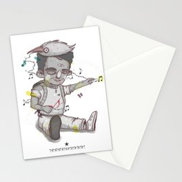 Music Box Stationery Cards