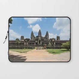 Angkor Wat East Entrance, Cambodia Laptop Sleeve