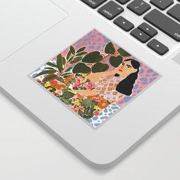 Botanical Lady Sticker