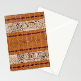 Tapis Lampong South Sumatra Indonesian Wrap for Woman Print Stationery Cards