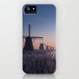 Sunrise at Kinderdijk II iPhone Case