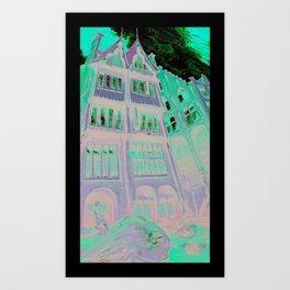 Mermaids of Bruge Art Print