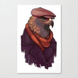Brutal eagle Canvas Print