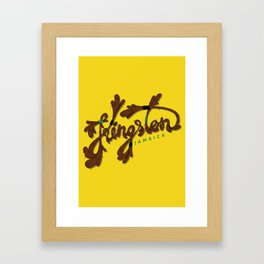 Kingston Framed Art Print