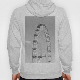 The London Eye (Black and White) Hoody