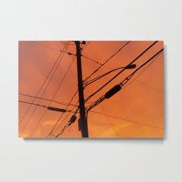 niantic sunset Metal Print