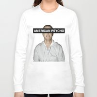 britney spears Long Sleeve T-shirts featuring American Psycho - Britney Spears by hunnydoll