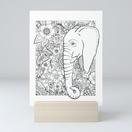 Save the Elephants Mini Art Print