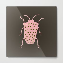 arthropod brown Metal Print