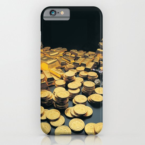 Gold Coins iPhone & iPod Case