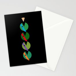 Pac-Turtles Stationery Cards