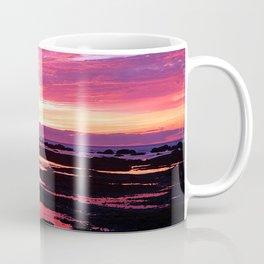 Deep Red Saturated Sunset Coffee Mug