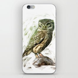 Olive Owl iPhone Skin