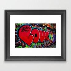 Love Art Framed Art Print