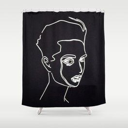 Uncouth Shower Curtain