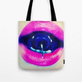 Joyride Cherry Lipstick Tote Bag