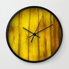 Impressionistic Autumn 4 Wall Clock