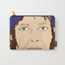 Elliott Smith pixel portrait Carry-All Pouch