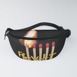 Revolt fire matches Fanny Pack