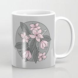 Sakura Branch - Ballet Slipper + Neutral Grey Coffee Mug