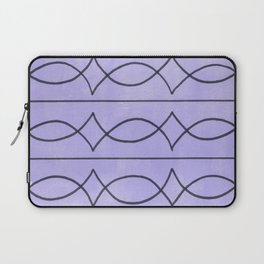 Metalwork and Lavender Laptop Sleeve
