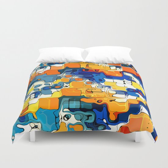 Creative Colors Design  Duvet Cover