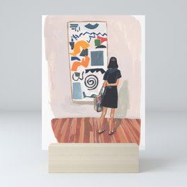 Abstraction Love Mini Art Print