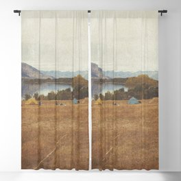 HAPPY CAMPER Blackout Curtain