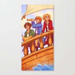 Piratey Trio Canvas Print