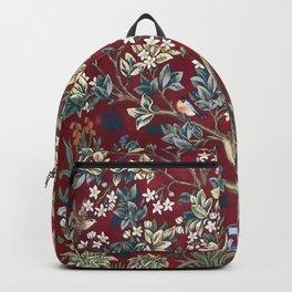 "William Morris ""Tree of life"" 2. Backpack"