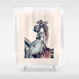 Iron Knight Shower Curtain