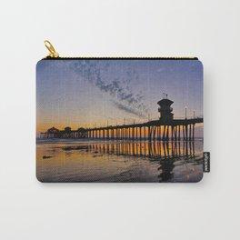 Sunset Huntington Beach Pier      10 / 22/ 13 Carry-All Pouch