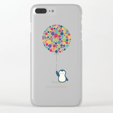 Float In The Air Clear iPhone Case