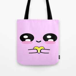 Holding my heart - pink Tote Bag