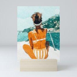 Solo Traveler Mini Art Print