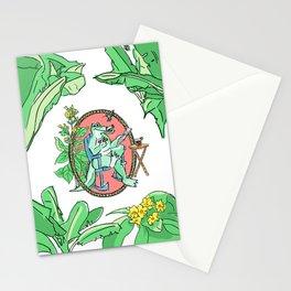 Cuban crocodile Stationery Cards