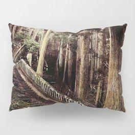 Stone Steps - Japan Nikko Pillow Sham