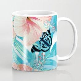 Tropical Spring Aqua Coffee Mug