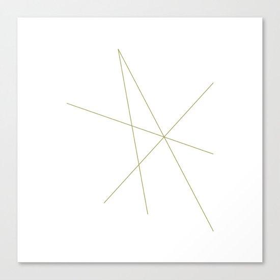 #334 Isometr-crcrrrrrrr – Geometry Daily Canvas Print