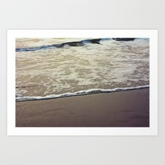 Touch the Sea Art Print