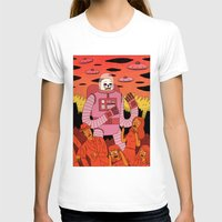 invader zim T-shirts featuring Alien Invader  by Jack Teagle