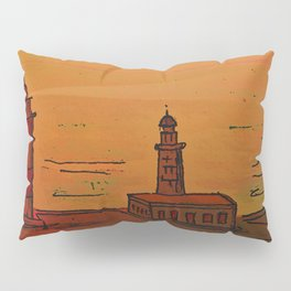 Good Morning / New and Old Lighthouse Fuencaliente La Palma Pillow Sham