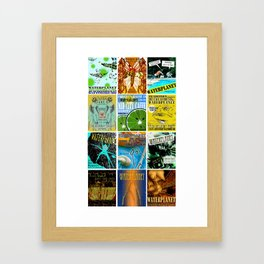 WATERPLANET: GigPosters1 Framed Art Print