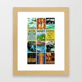 WATERPLANET: GigPosters1 Framed Art Print