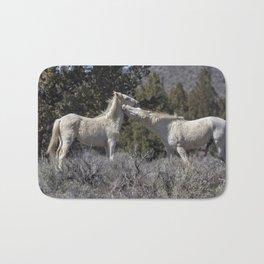 Wild Horses with Playful Spirits No 7 Bath Mat