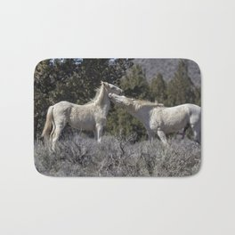 Wild Horses with Playful Spirits No 7 Bath Mat