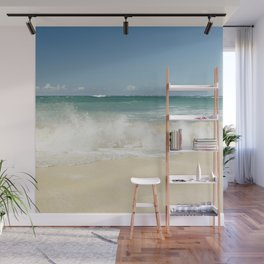 beach love shoreline serenity Wall Mural